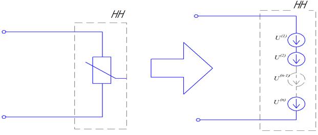 Рисунок 4-Схема замещения