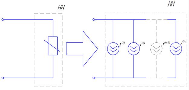 Рисунок 5 - Схема замещения