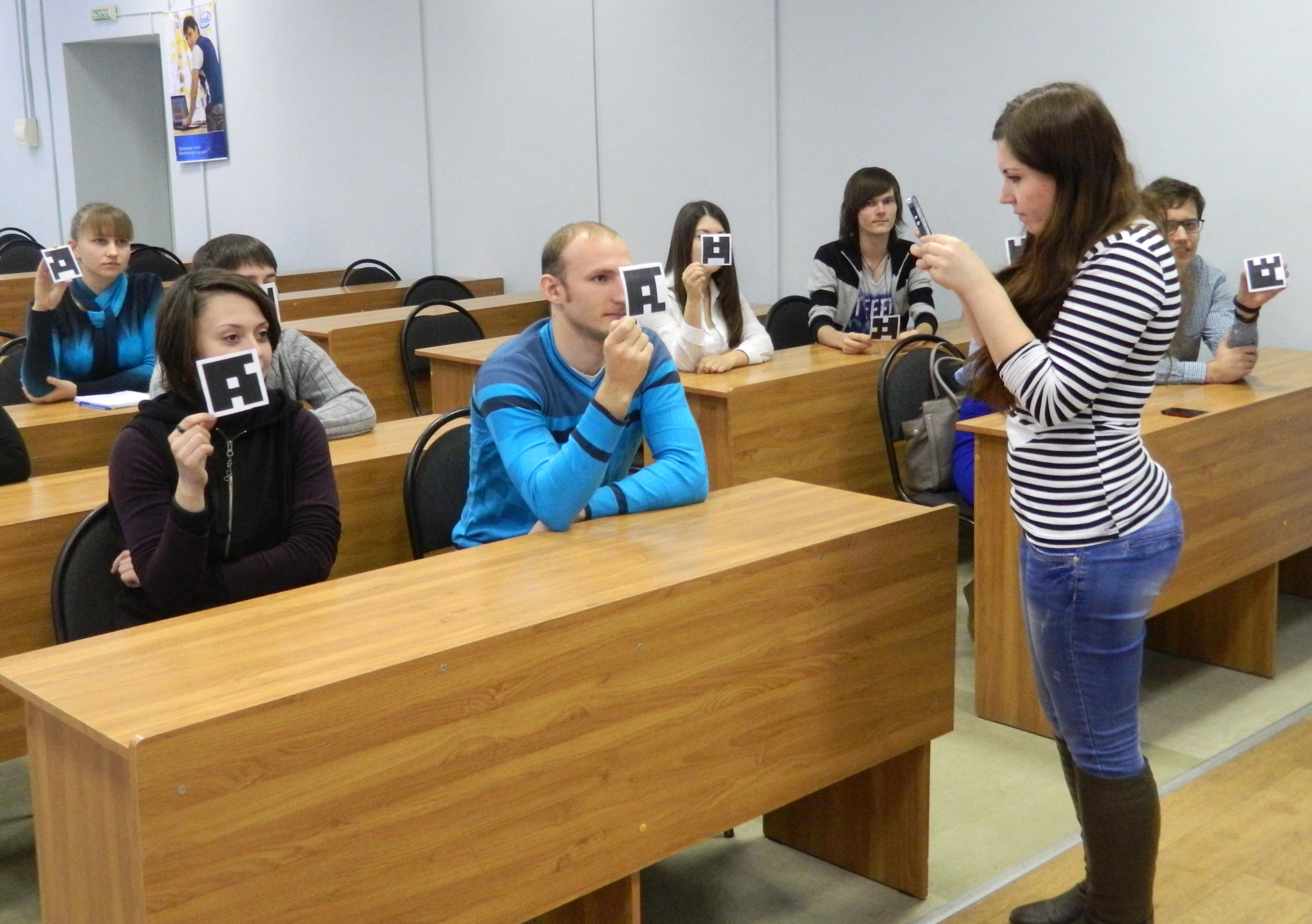 Сканирование ответов студентов