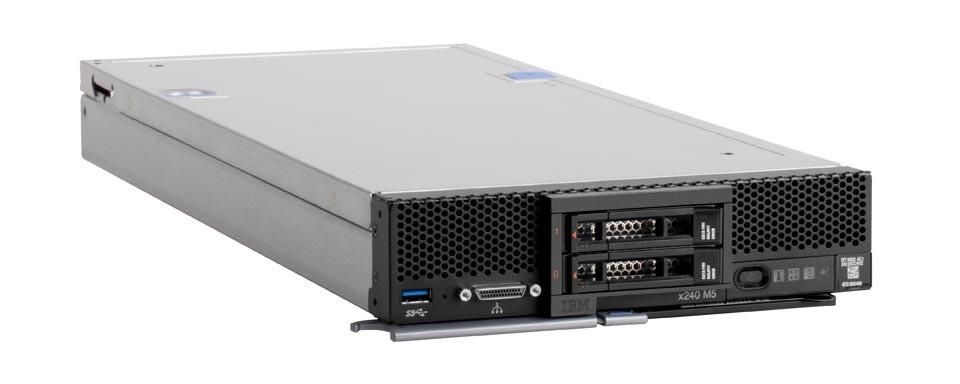 Особенности блейд-серверов Lenovo Flex System x240 M5